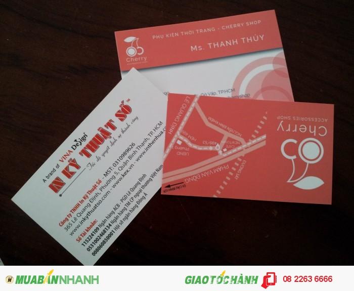 In name card giá rẻ - uy tín - chất lượng