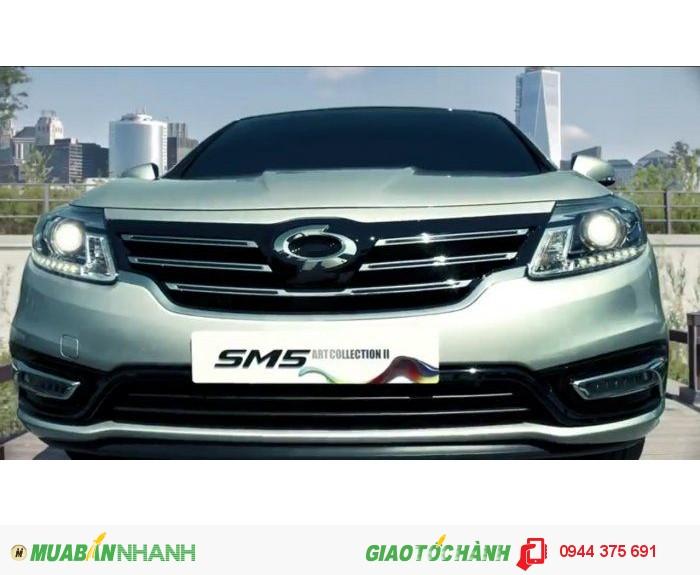 Ô tô Samsung SM5 1.6 GDi Turbo CVT 190HP Khuyến Mại Lớn
