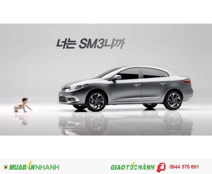 Xe Ô tô Renault Fluence Samsung SM3 Giá Rẻ Nhất Thị Trường mới 100%