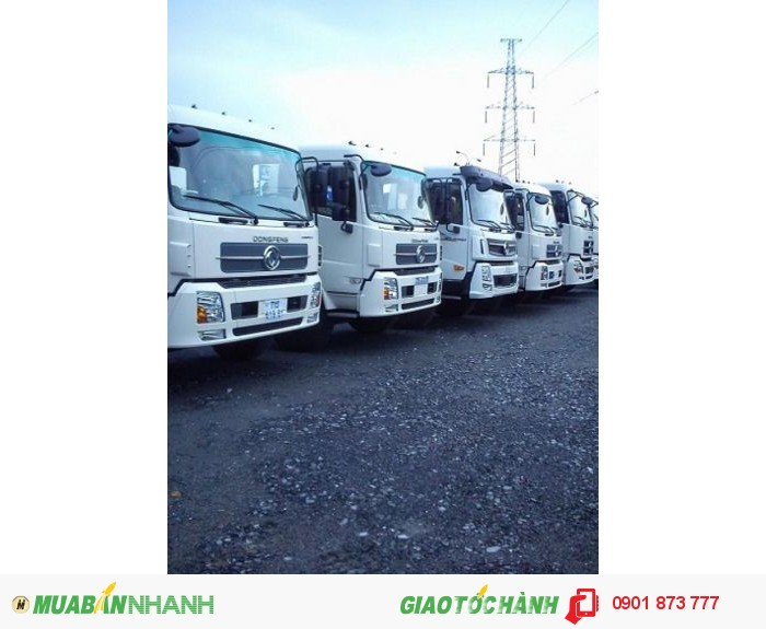 Xe Dongfeng Hoàng Huy 8.45 tấn 8.75 tấn 9.15 tấn 9.6 tấn máy Cummins nhập khẩu, Dongfeng B170 B190 1