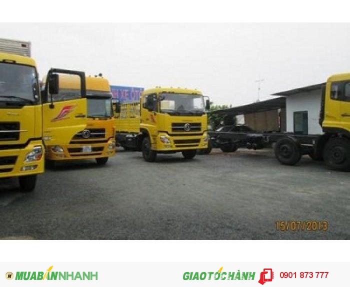 Xe Dongfeng Hoàng Huy 8.45 tấn 8.75 tấn 9.15 tấn 9.6 tấn máy Cummins nhập khẩu, Dongfeng B170 B190 2