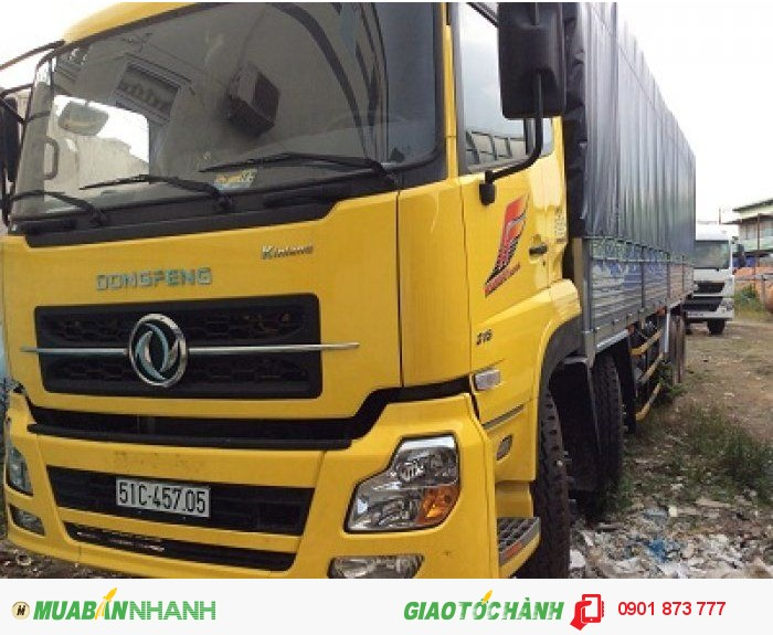 Xe Dongfeng Hoàng Huy 8.45 tấn 8.75 tấn 9.15 tấn 9.6 tấn máy Cummins nhập khẩu, Dongfeng B170 B190 4