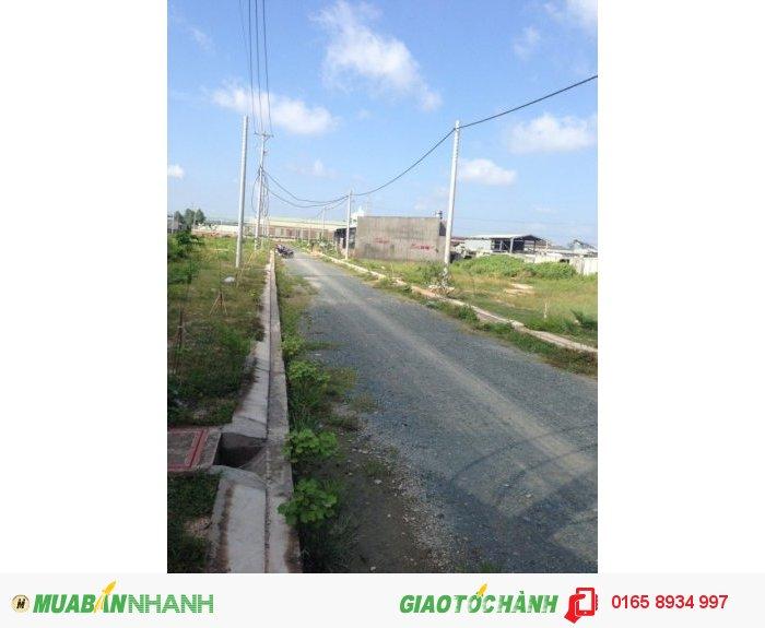 Bán đất thổ cư 100% , 2 mặt tiền ở gần vòng xoay An Phú