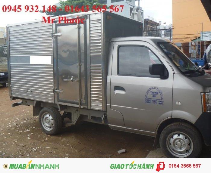 DongBen 870kg Thùng Mui Bạt sản xuất năm  Số tay (số sàn) Xe tải động cơ Dầu diesel