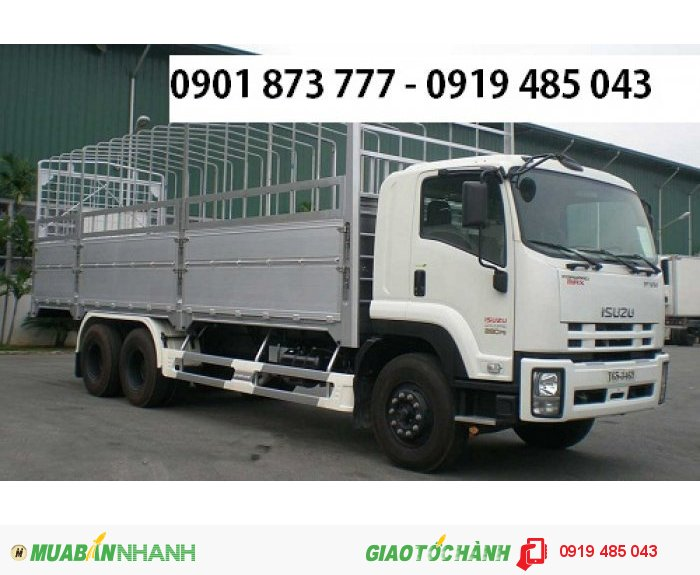 Xe tải Isuzu 15.5 tấn 3 chân (Isuzu 3 giò 15T5) nhập khẩu, Mua xe Isuzu 3 chân 15T5 (3 giò 15T5)
