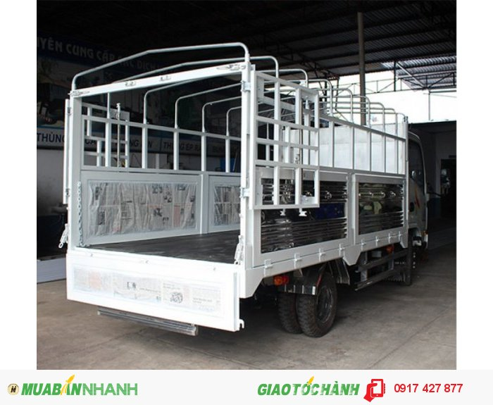 Xe tải Veam vt252 tải trọng 2.4 tấn lưu thông thành phố