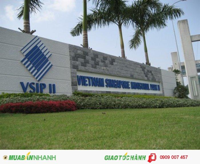 Bán Lô Đất Xây Phòng Trọ Đối Diện KCN Hiện Đại Việt-Sing 2 Bình Dương