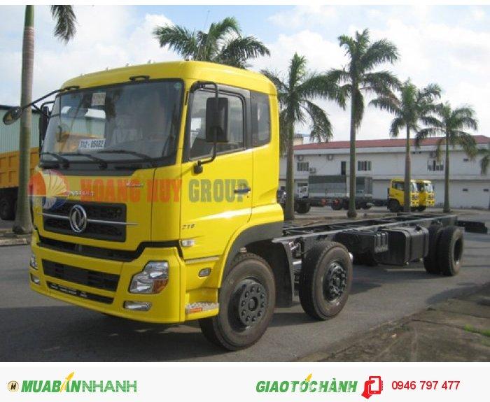 Mua bán xe tải Dongfeng Hoàng Huy,  B210 , 10.6 tấn/10t6,  3 chân 2 dí 1 cầu
