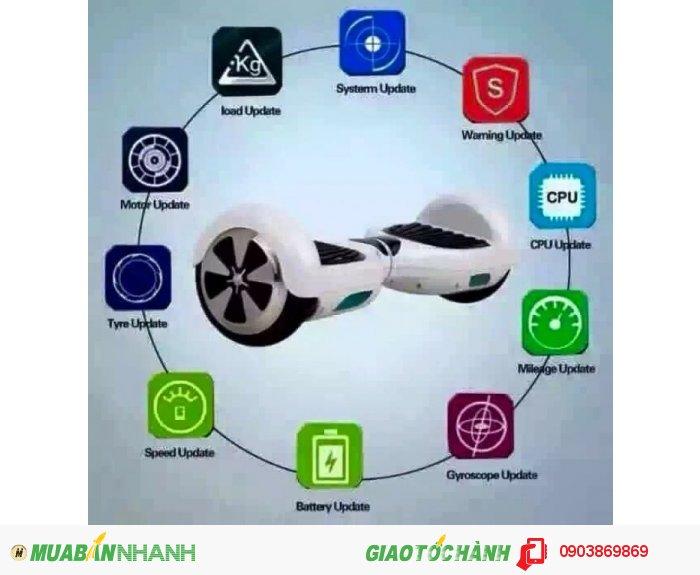 Xe điện thông minh tự cân bằng2