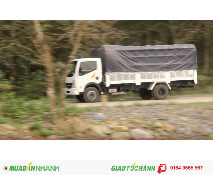 VEAM VT650, xe tải VEAM 6,5 tấn, xe VEAM 6,5 tấn máy NISSAN 2