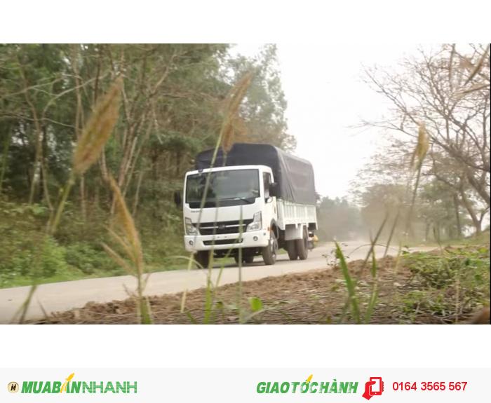 VEAM VT650, xe tải VEAM 6,5 tấn, xe VEAM 6,5 tấn máy NISSAN 3