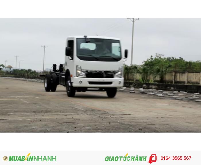 VEAM VT498, xe VEAM 4,9 tấn, xe tải 4 tấn 99, xe VEAM VT498 máy NISSAN, bán xe trả góp 0