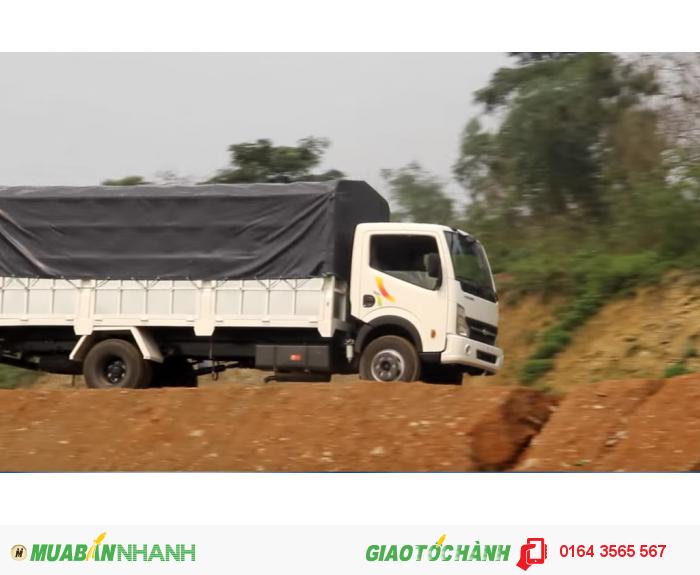 VEAM VT498, xe VEAM 4,9 tấn, xe tải 4 tấn 99, xe VEAM VT498 máy NISSAN, bán xe trả góp 1
