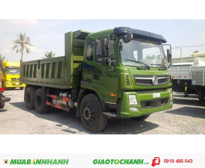 Xe ben Dongfeng Trường Giang, 7T8 , 9T2 , 14T , 2 cầu
