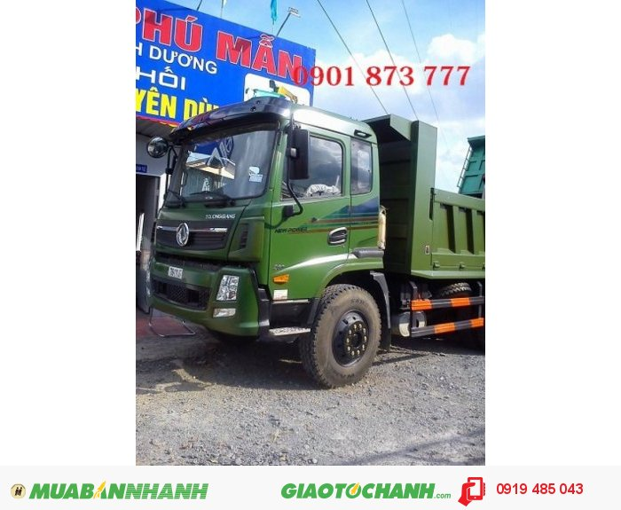 Xe ben Dongfeng Trường Giang, 7T8 , 9T2 , 14T , 2 cầu 2
