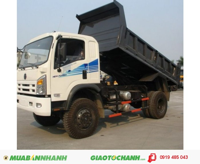 Xe ben Dongfeng Trường Giang, 7T8 , 9T2 , 14T , 2 cầu 3