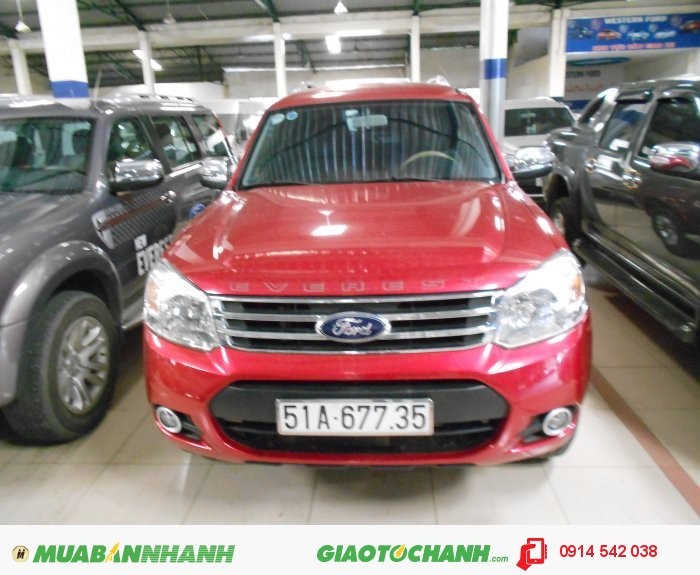 Bán Ford Everest 4x2 MT sx 2013 form mới bstp 0
