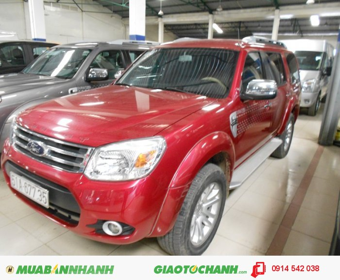 Bán Ford Everest 4x2 MT sx 2013 form mới bstp 1