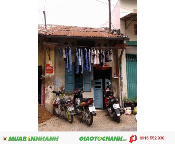 Bán nhà Q5, mặt tiền Nguyễn Thời Trung , 52.2m2 , nhà cấp 4 , GIÁ 4.4 tỷ/TL