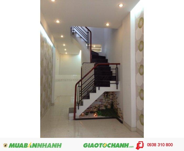 Bán nhà mới Tô Hiến Thành, P.13, Q.10, Dt 9x7m, hướng Đông Bắc, giá 2.95 tỷ/TL.