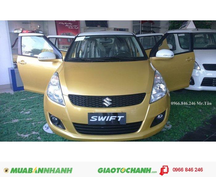 Suzuki Swift 2015 Phiên bản đặc biệt Vàng Nóc Trắng