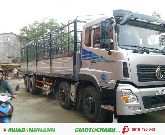 Xe tải Dongfeng Trường Giang 4 chân (4 giò), xe tải Dongfeng 4 giò 17.9 tấn 18.7 tấn 19 tấn