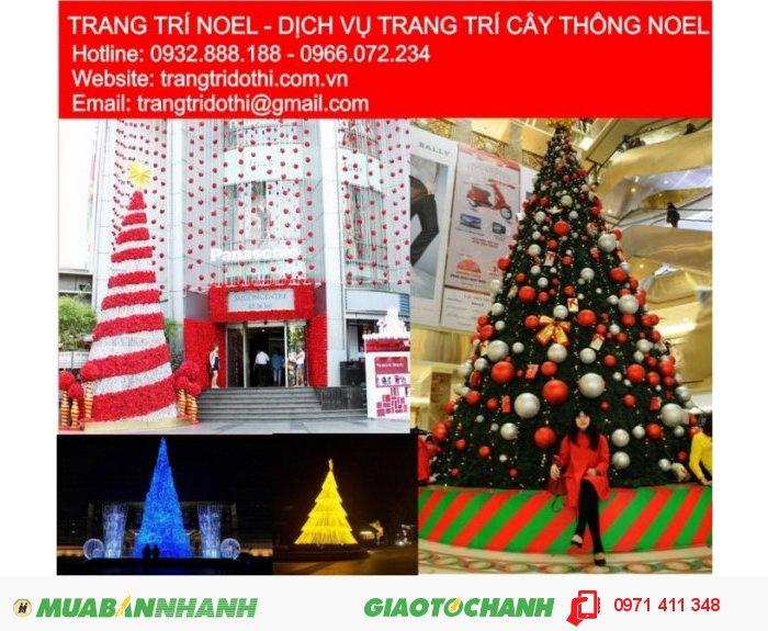 Thiết kế trang trí Giáng sinh cây thông Noel chuyên nghiệp