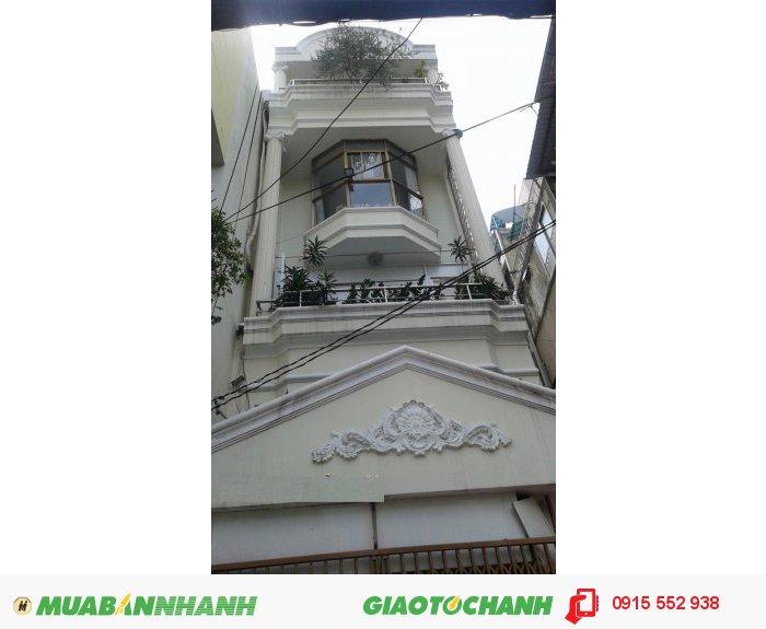 Bán nhà Q3, mặt tiền Võ Văn Tần,  92m2,  4 lầu nhà mới , GIÁ 22 tỷ/TL