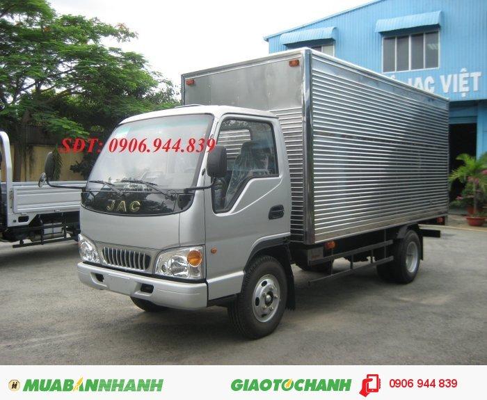 Bán xe tải 2T4, xe tải 2T4(cao cấp), xe tải Jac 2T4, giá bất ngờ 0