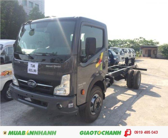 Bán xe tải Veam 1.9 tấn , 2 tấn thùng dài 6m , mua xe tải Veam Vt650 6.5 tấn,  trả góp lãi suất ưu đãi 0