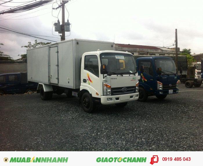 Bán xe tải Veam 1.9 tấn , 2 tấn thùng dài 6m , mua xe tải Veam Vt650 6.5 tấn,  trả góp lãi suất ưu đãi 3