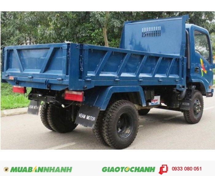 Xe tải veam ben 1.25 tấn động cơ hyundai