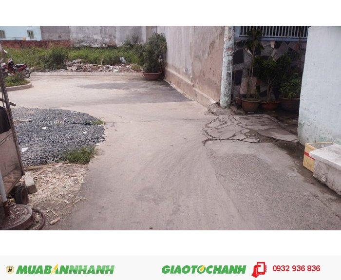 Đất nền Chợ Cầu đường Quang Trung, quận Gò Vấp