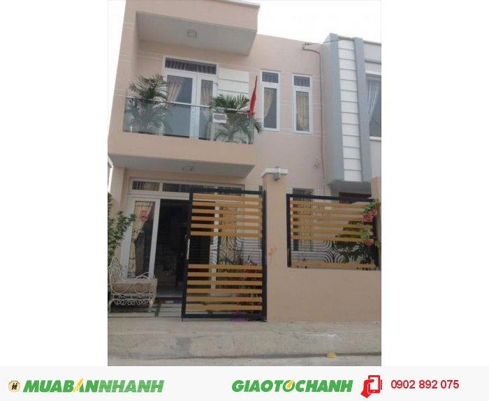 Cần bán căn nhà mới xây 1 trệt, 1 lầu nằm gần chợ Xuân Thới Thượng