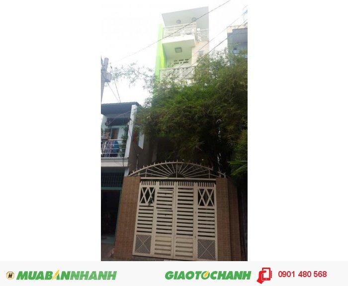 Bán nhà hẻm Nguyễn Trung Trực, Phường 5, Quận Bình Thạnh,  60.8m2, Giá 3.45 tỷ/TL