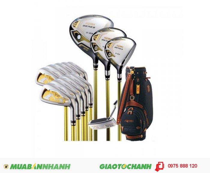 Bộ gậy golf Honma Beres S-03 3✯ Giá siêu ưu đãi (hết hàng)