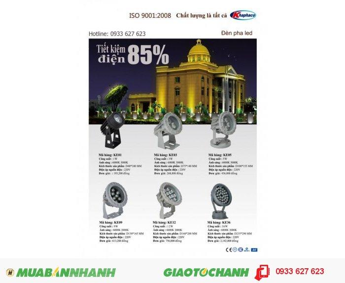 Nhà cung cấp đèn LED Khaphaco giá sỉ