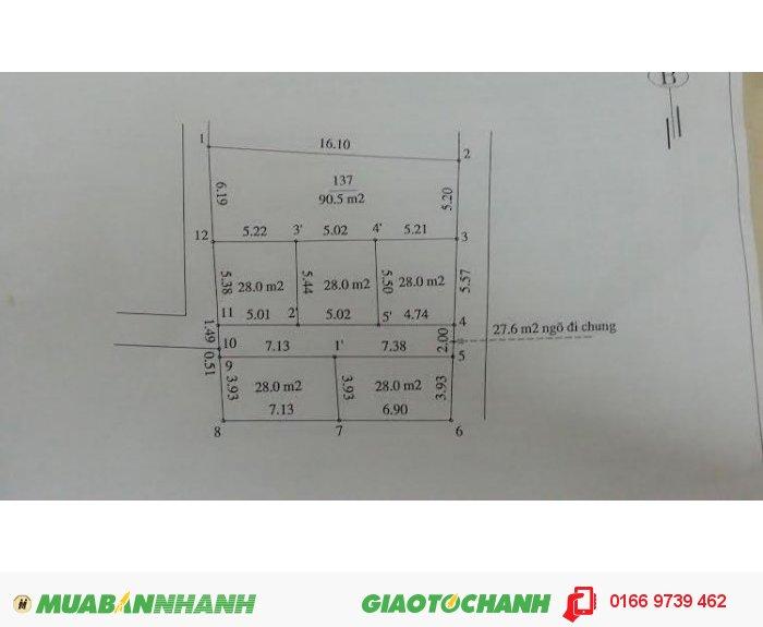 Bán đất 1,1 tỷ gần khu liên kề Yên Xá , Hà Đông, Hà Nội