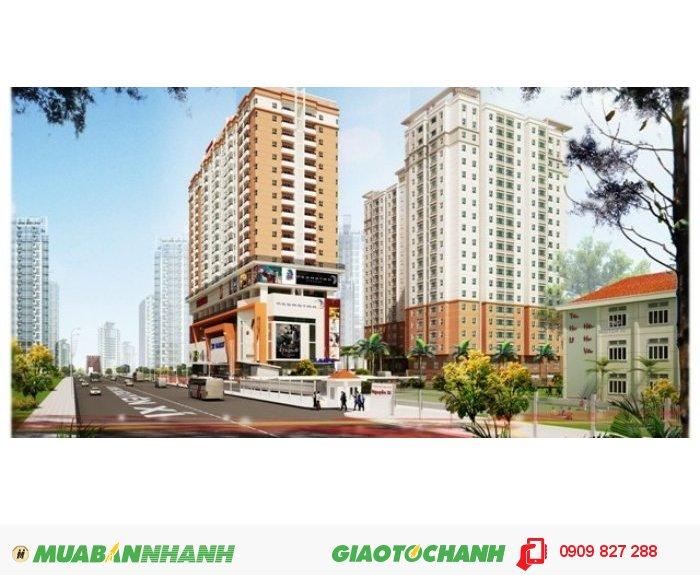 Căn hộ cao cấp SaigonRes Plaza ngay trung tâm Q.Bình Thạnh, giá chỉ từ 1,4 tỷ/căn 2PN