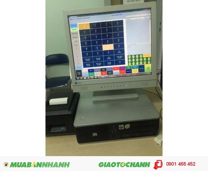 Bộ 3 sản phẩm bán hàng bằng phần mềm cảm ứng cho Quán Cafe1