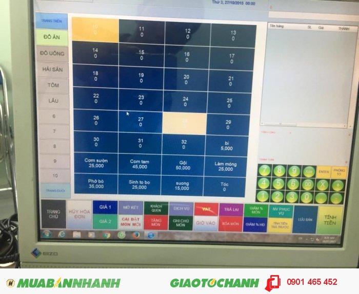 Bộ 3 sản phẩm bán hàng bằng phần mềm cảm ứng cho Quán Cafe2