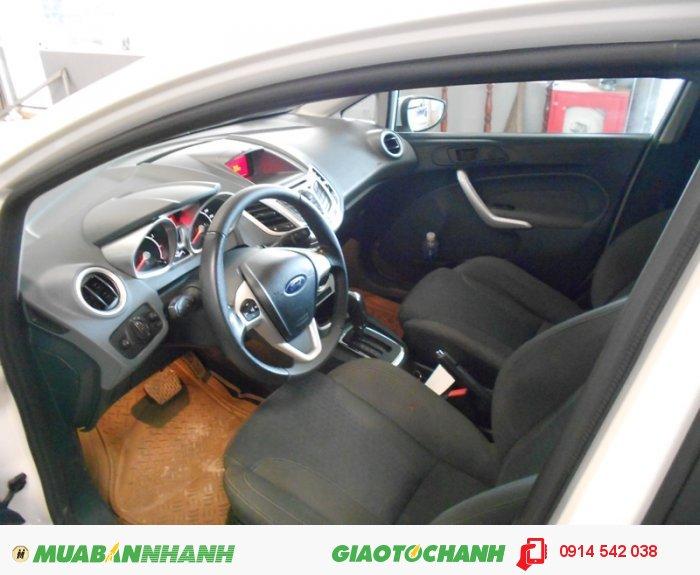 Bán Ford Fiesta 1.6 AT 05 cửa sx 2012 màu trắng 3