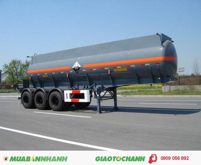 Sơ mi rơ Moóc Xi-téc bồn chở xăng dầu 40M3 nhãn hiệu KaiLe.
