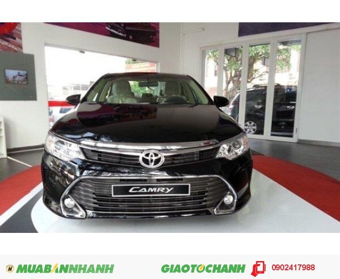 Toyota Camry 2.0E Mới 100%, Màu ĐEN, Giao Ngay, Khuyến Mãi Đến 85 tr PK,