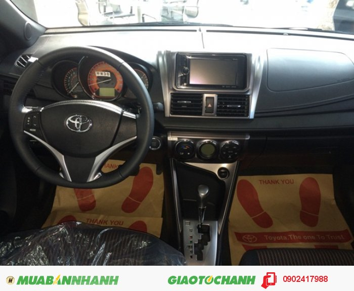 Cần bán Toyota Yaris 1.5G mới 100%, giao ngay, khuyến mãi đến 30 triệu
