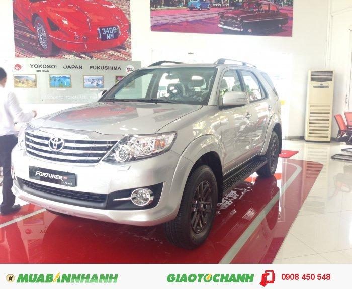 Bán xe Toyota Fortuner giá tốt giao ngay