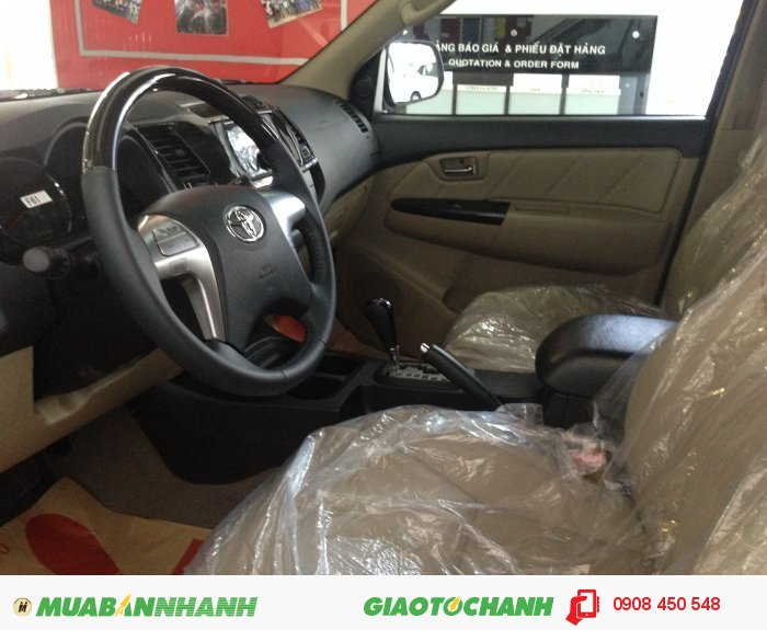 Bán xe Toyota Fortuner giá tốt giao ngay 4