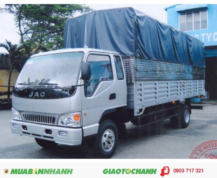 Xe tải Jac 7t25 giá cạnh tranh. Gía bán trả góp xe tải 7T25/ 7250Kg/ HFC 1183K