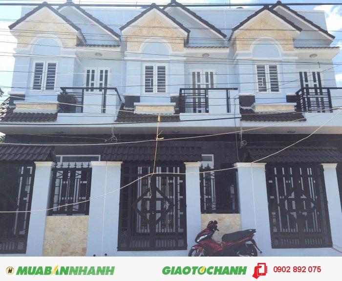 Cần bán nhà mới xây 1 trệt, 1 lầu , SHR đường Nguyễn Văn Bứa nối dài