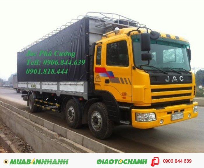 Bán xe tải nặng Jac 260Hp HFC1253K1R1 12.5T (12.5 tấn)
